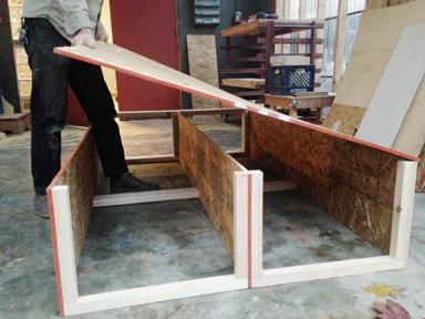 Rickie Barnett building (Step #7)