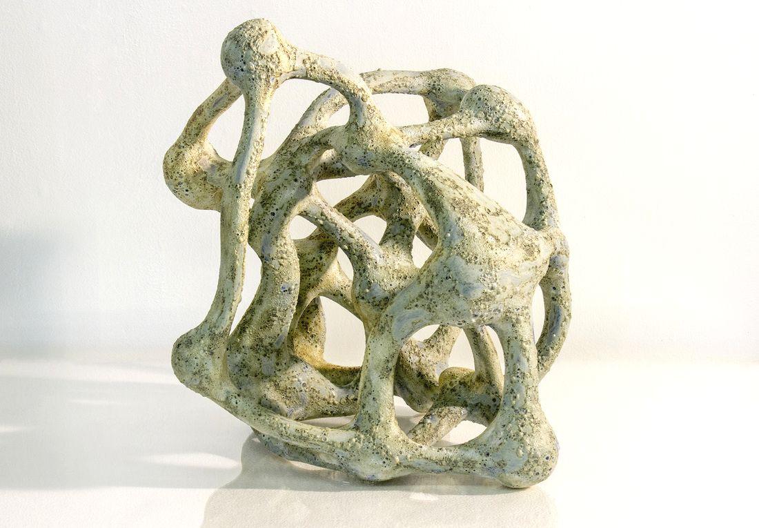 Microcosm, Ceramic, Glaze, 2015