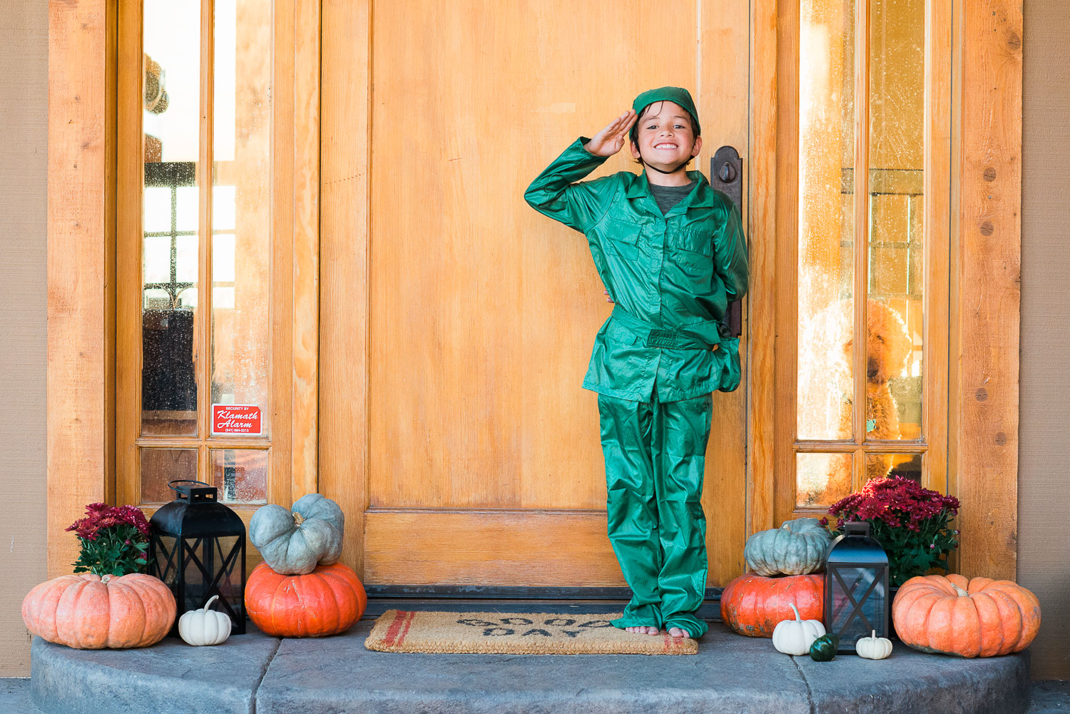 little green soldier halloween
