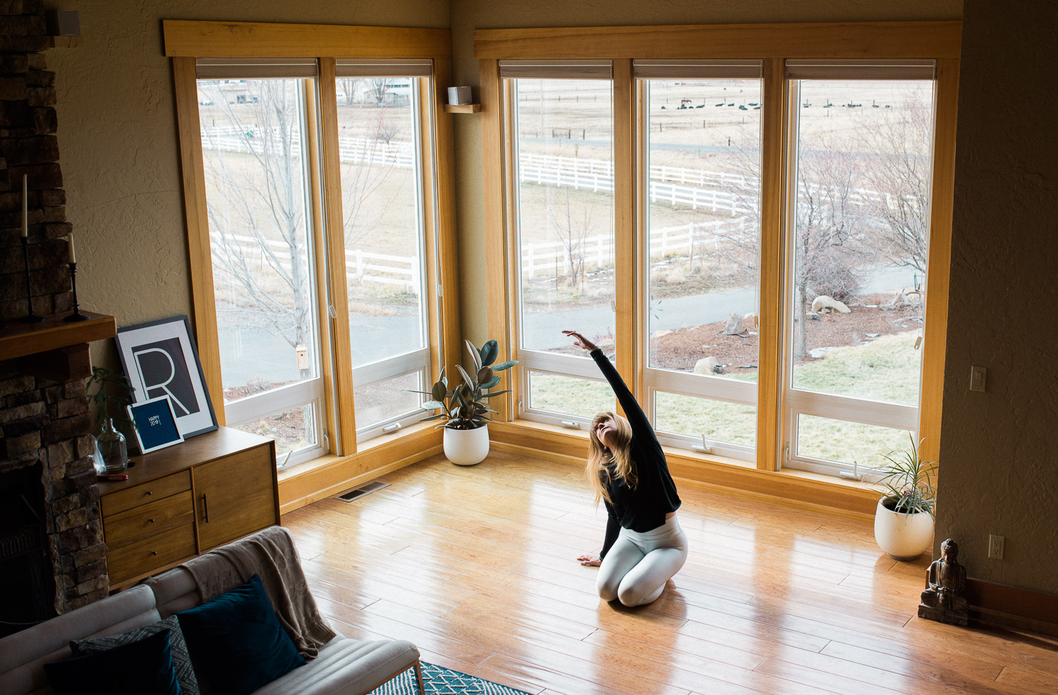 I teach yoga and some variation of this side body stretch is almost always part of the warm up. One of the things I first loved about yoga is the freedom you feel in your body when you move in ways you don't during your normal day-to-day life.