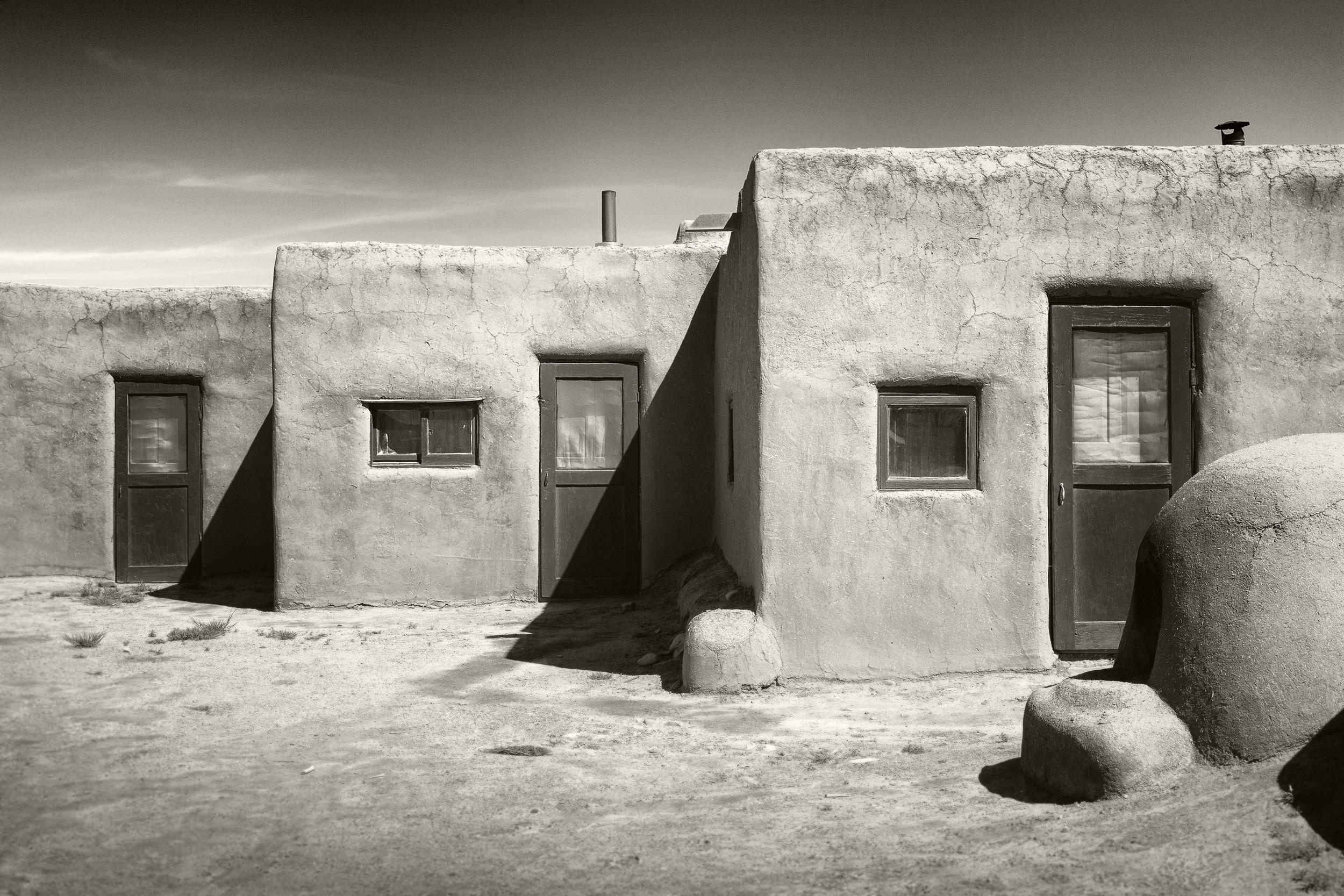 Taos Mission Doors