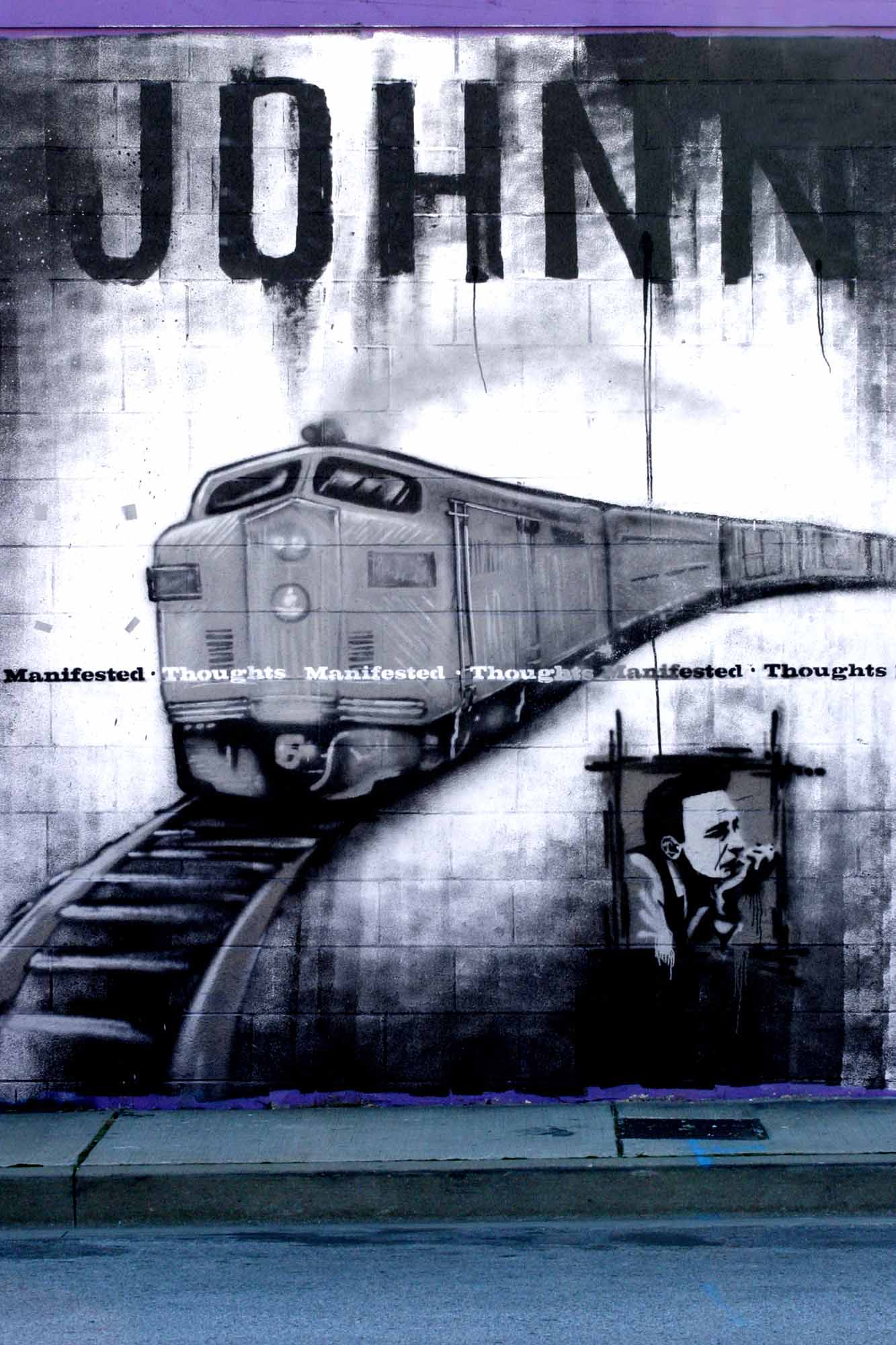 Johnny and a Train