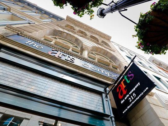 The Arts Company Building located on 5th Avenue of the Arts.    (Photo: Bob Schatz)