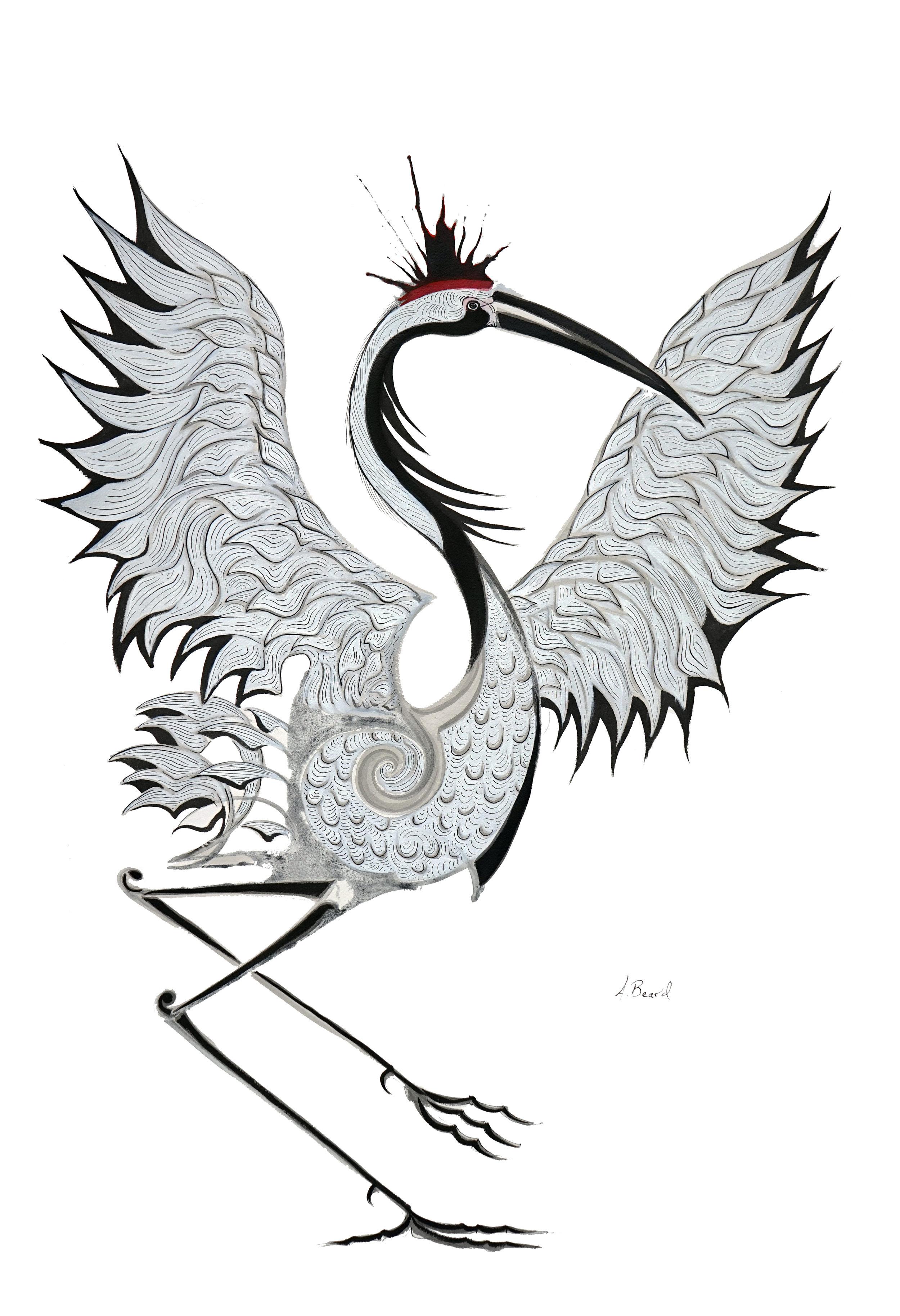 Red Crested Crane Nashville Left.jpg