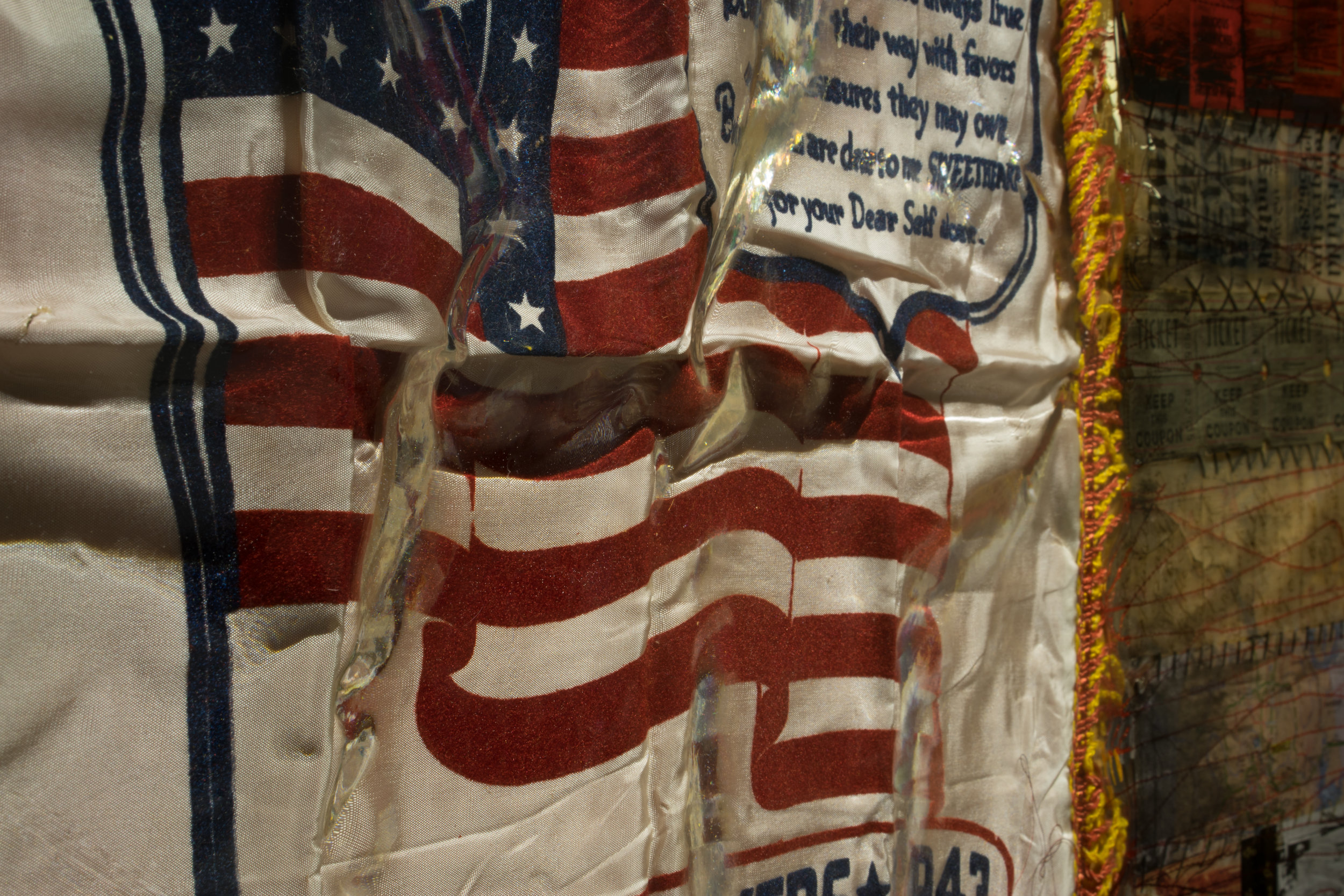 Detail of Her Flag XXVI