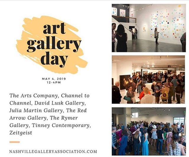 Catch us at 4PM tomorrow for a meet & greet on Nashville's Art Gallery Day before FirstBank First Saturday! Two featured artists in #TheAlteredImage @holliechastain & @nick_deford will be here to meet with you—plus a little complimentary champagne, of course 🥂 This will be followed be an on-site filmed interview with the curator and artists for an upcoming promo video. Can't think of a finer way to pre-crawl. See you there! @nashvillegalleryassociation
