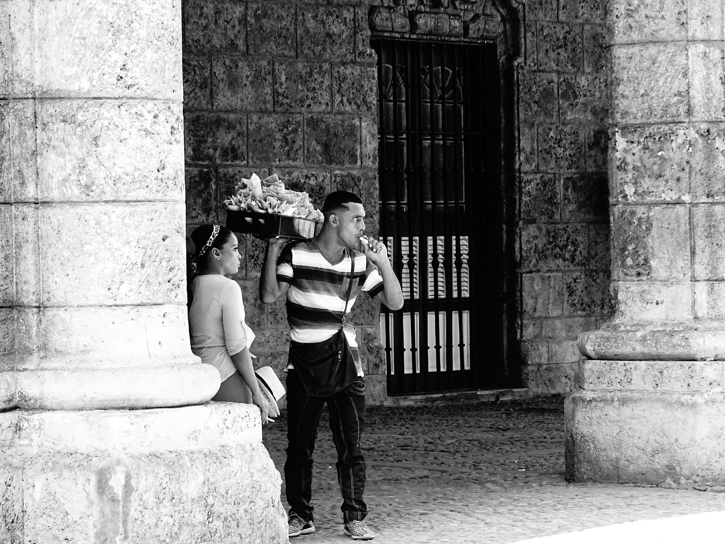 Street Vendors, Havana 2016