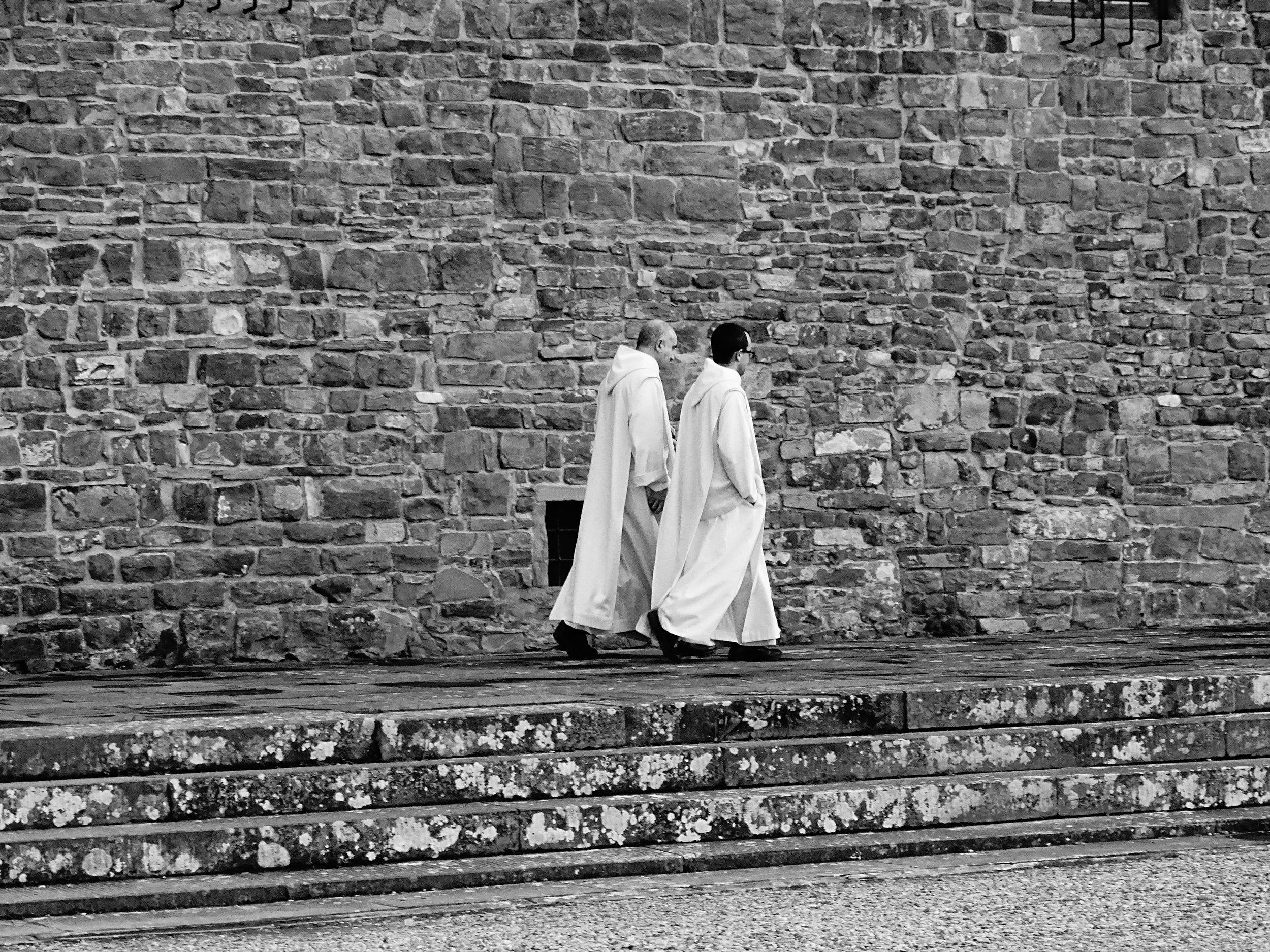Monks at San Miniato, Florence 2018