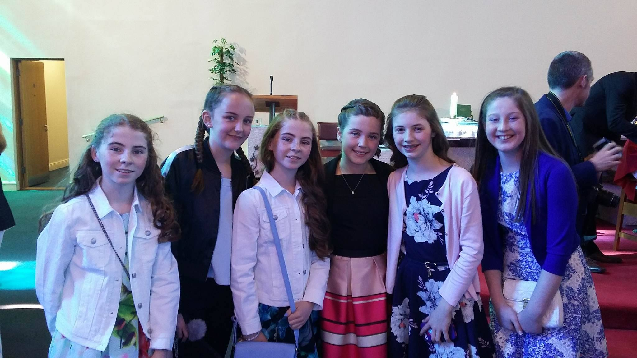 Some of our players made their confirmation with Scoil Neasain on Friday with a Disco back at the Club and still made Semi Finals on the Saturday