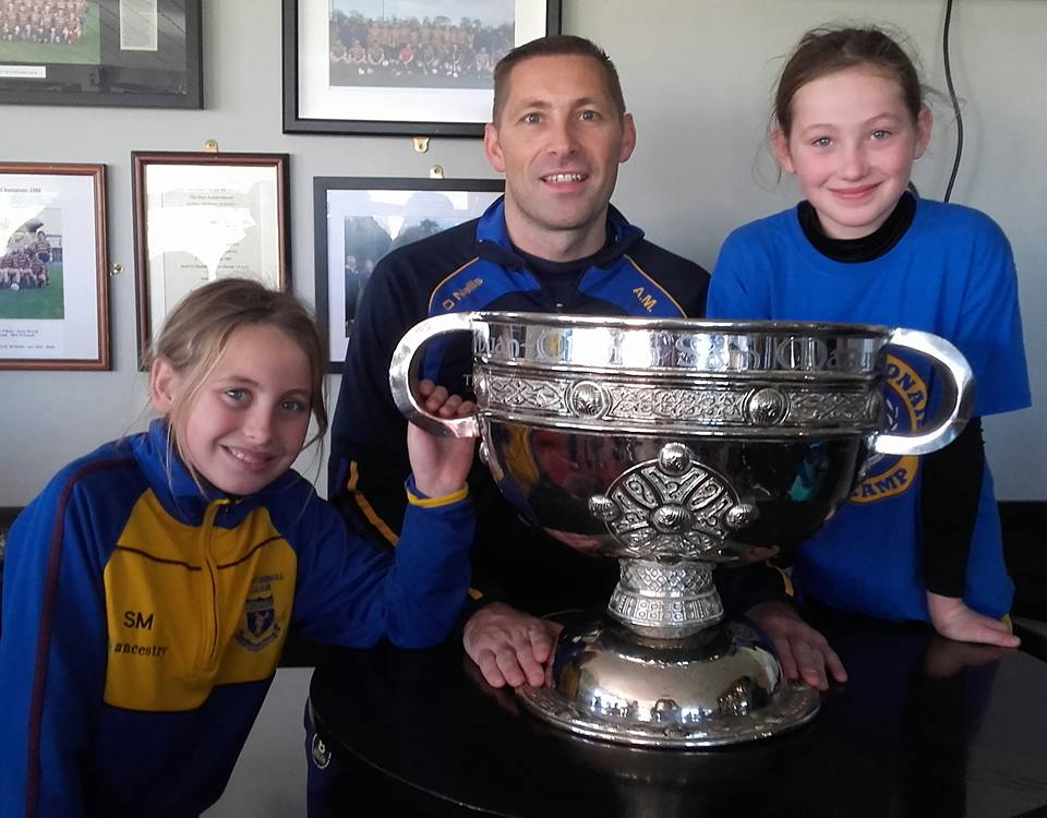 Senior Footballer & Camogie Coach; meet the man who has made a big impact in a short time...Aidan Mulligan!