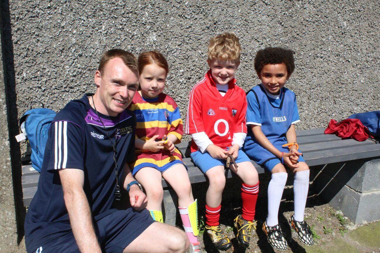 Well done to Players of the Week Aisling, Seanie and Mandela