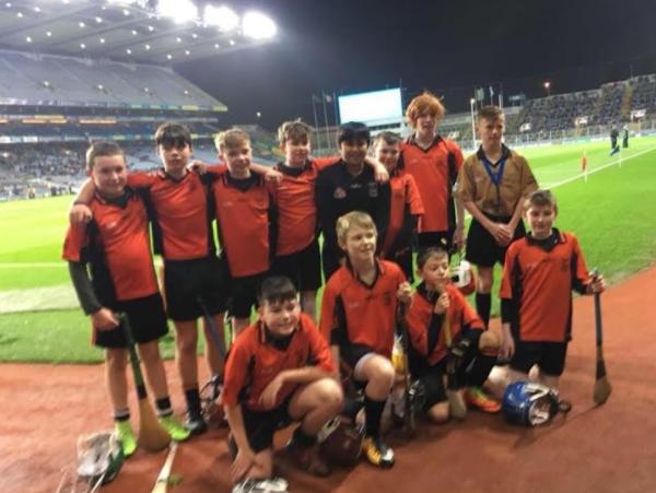Well done to U13s Lee who represented his school St Brigids in Croke Park last Saturday night!