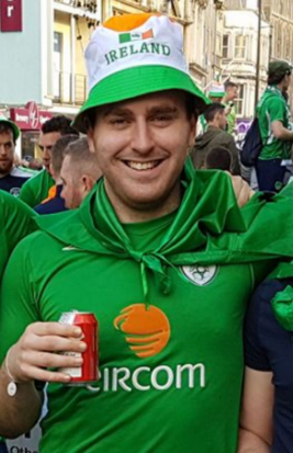 A skillful, socialite transfer from the Kingdom of Kerry, 3 time survivor of the Louth men's dreaded pre-season, Scoil's very own Marty Party!