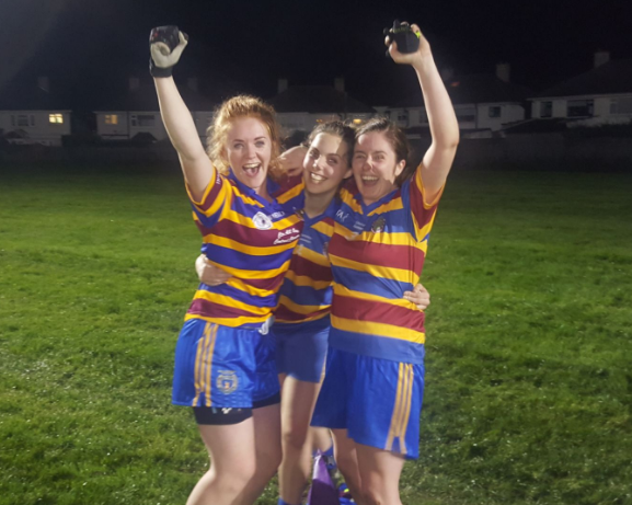 This firey red head is a force to be reckoned with on the pitch, a multi talented baller, and one of the driving (plowing, more like)forces behind the Scoil ladies success last year!