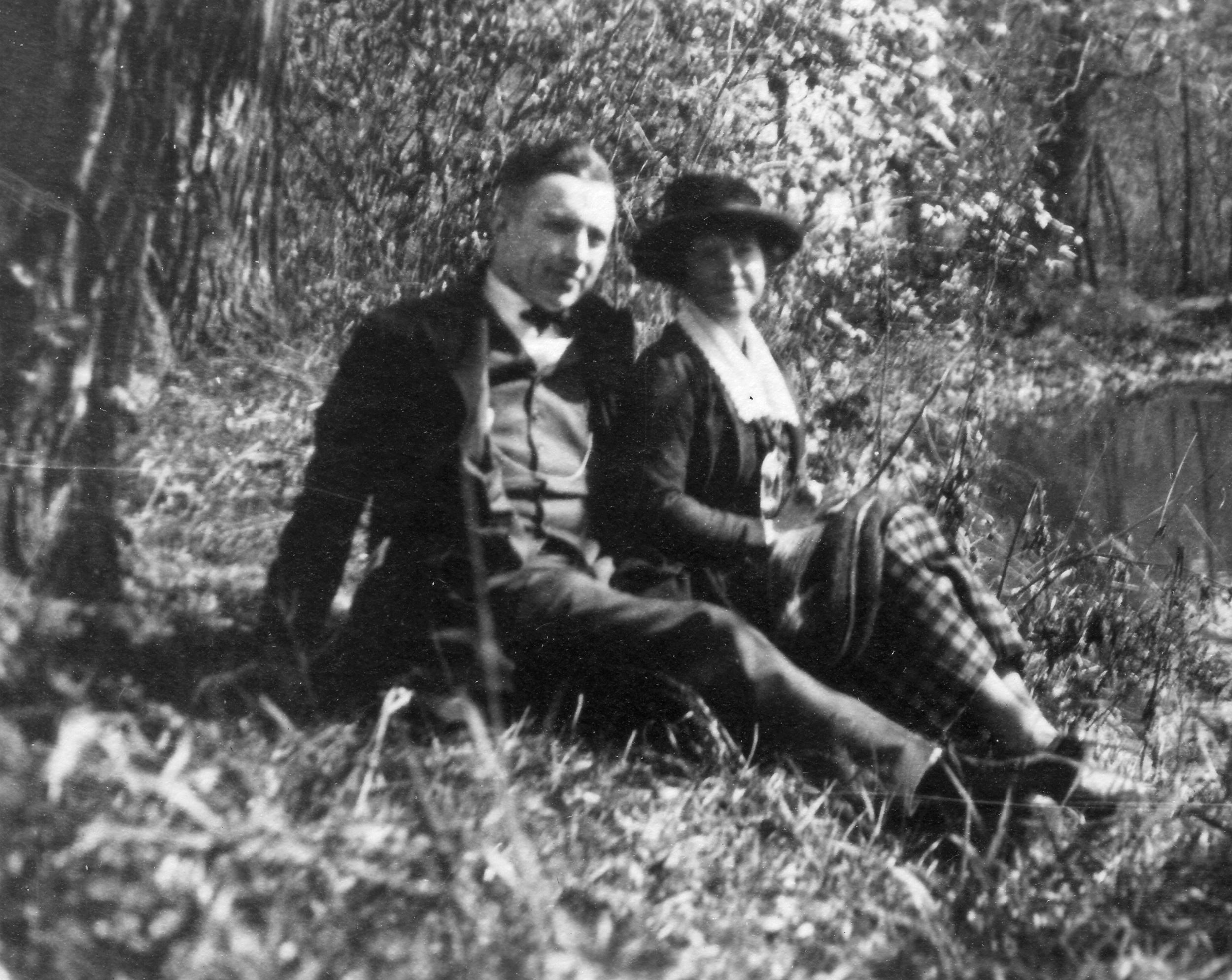 Paul and Betty, fall 1922