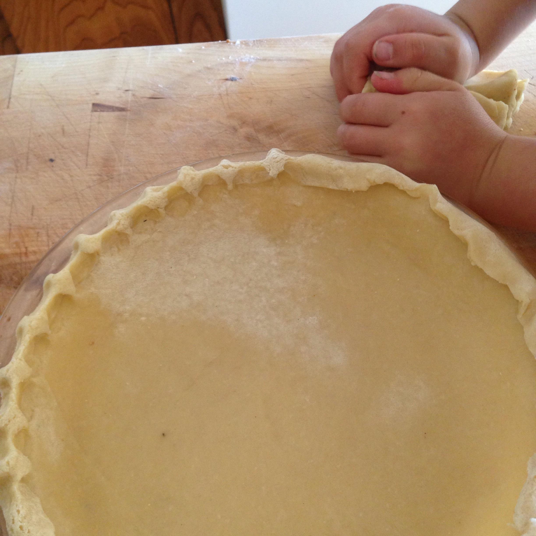 Fluting the crust