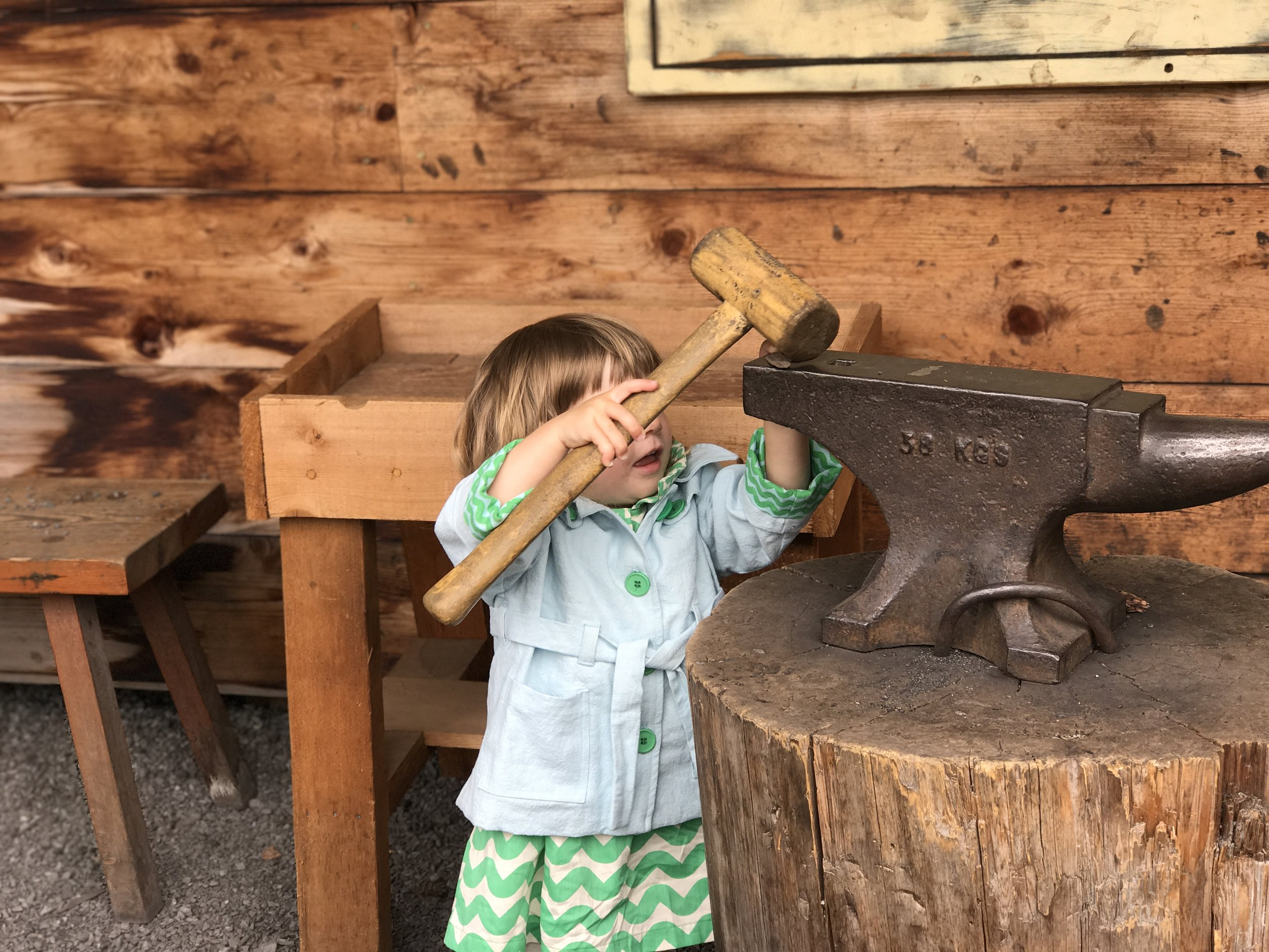 Tiny blacksmith