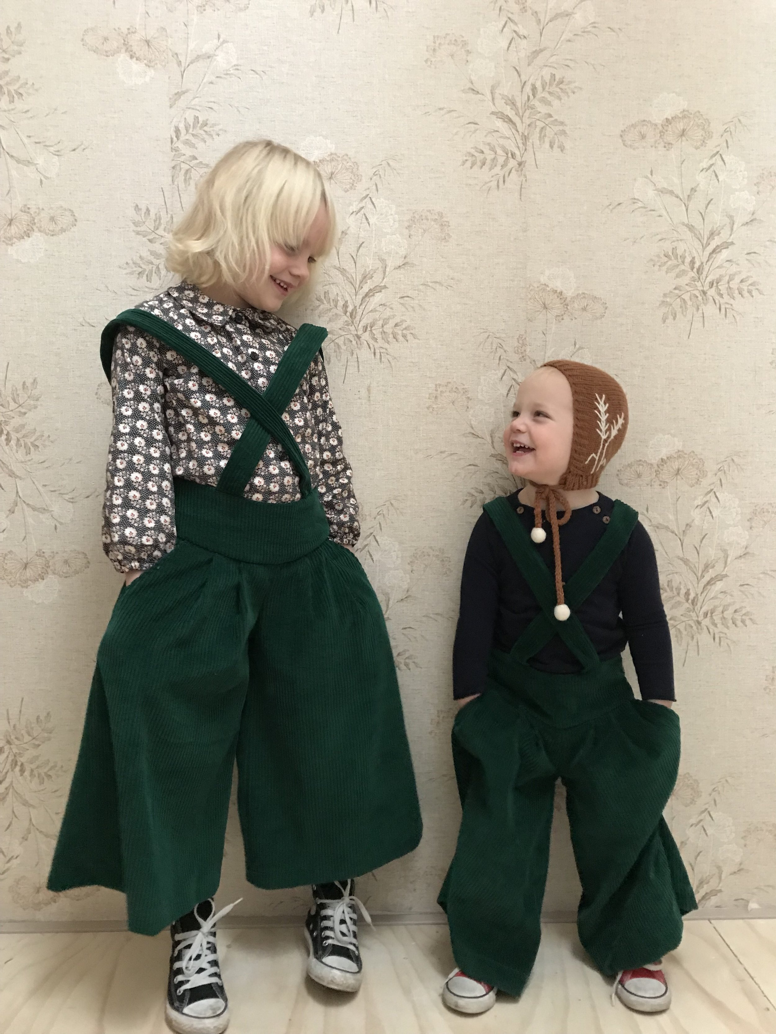 Sanne's girls in our Lily culottes