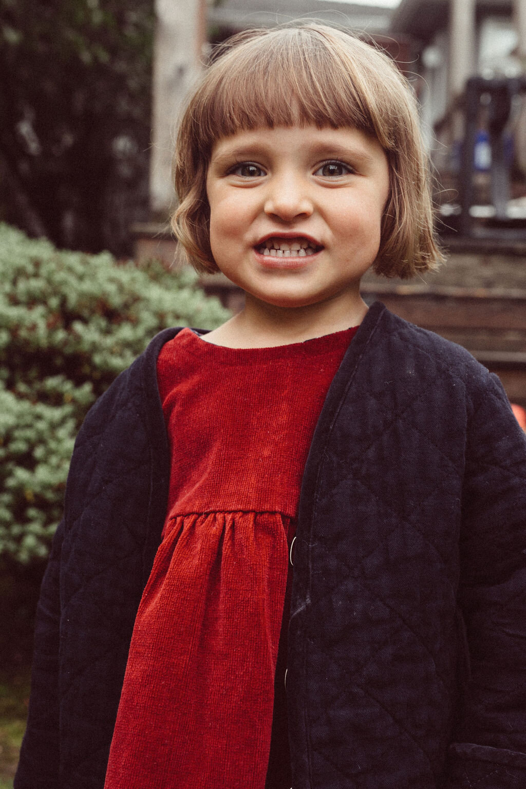 cutest smile in our  kids sage jacket