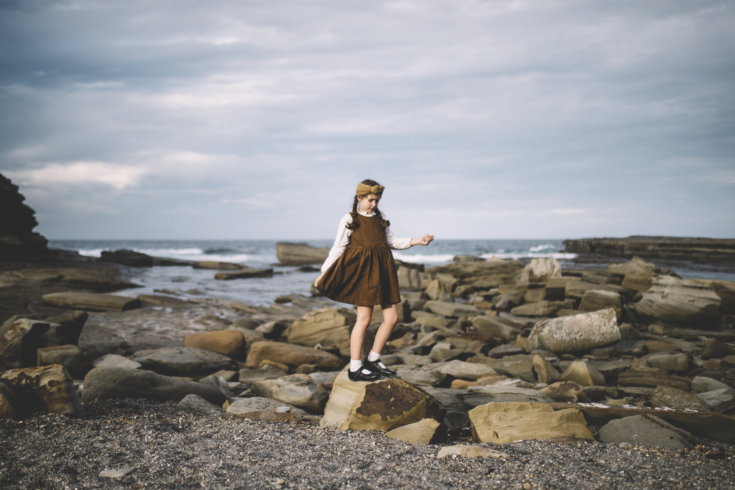 beautiful photo from @lamblovesfox of Amelie in our  Primrose dress
