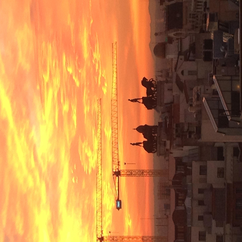 Sunsets. Madrid, Spain 2015