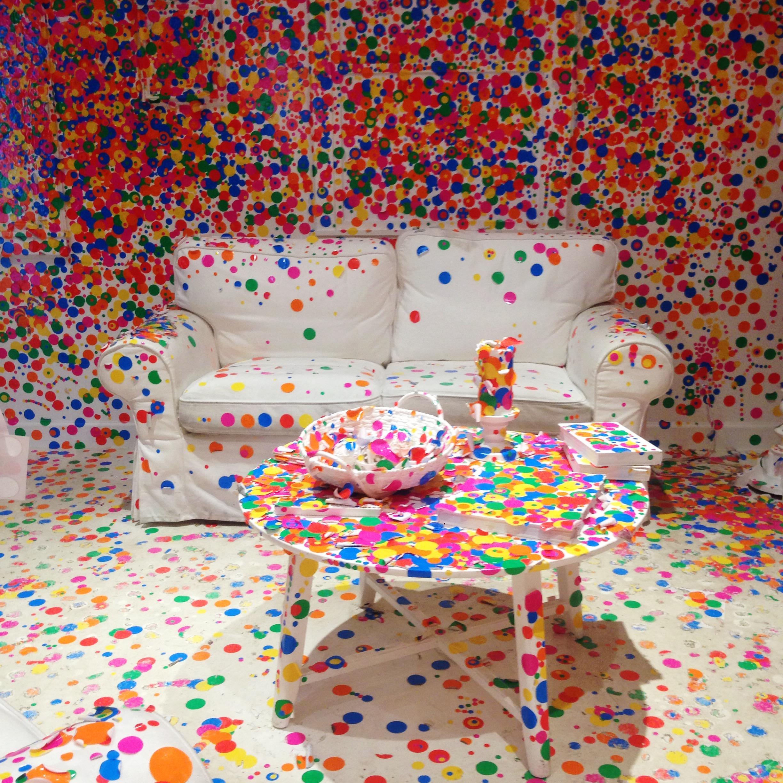 Yayoi Kusama | The Obliteration Room