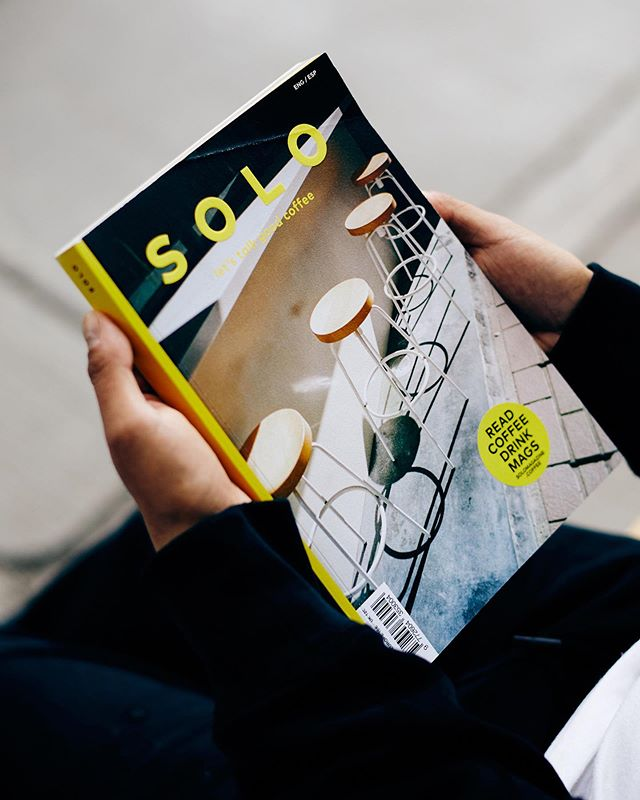 """¡¡Llegó el No. 4 de @solo.magazine !! En sus propias palabras: """"SOLO es una revista sobre buen café que tiene como objetivo acercarse a la escena del café de especialidad desde un punto de vista curioso, personal y no-técnico, ofreciendo siempre contenido de calidad de la mano de profesionales y mentes inquietas."""""""