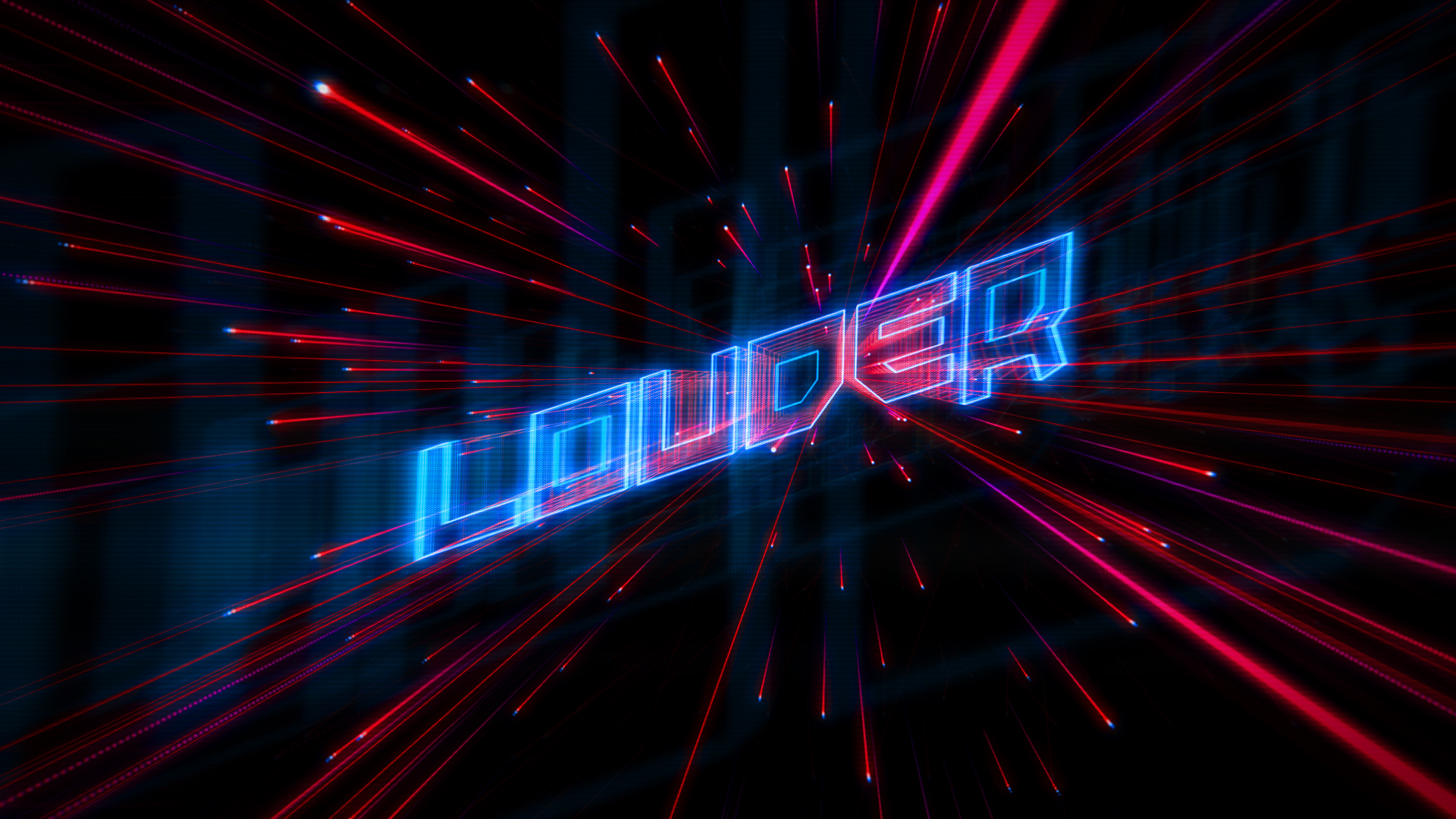 Louder - launching logo - MTC 2014