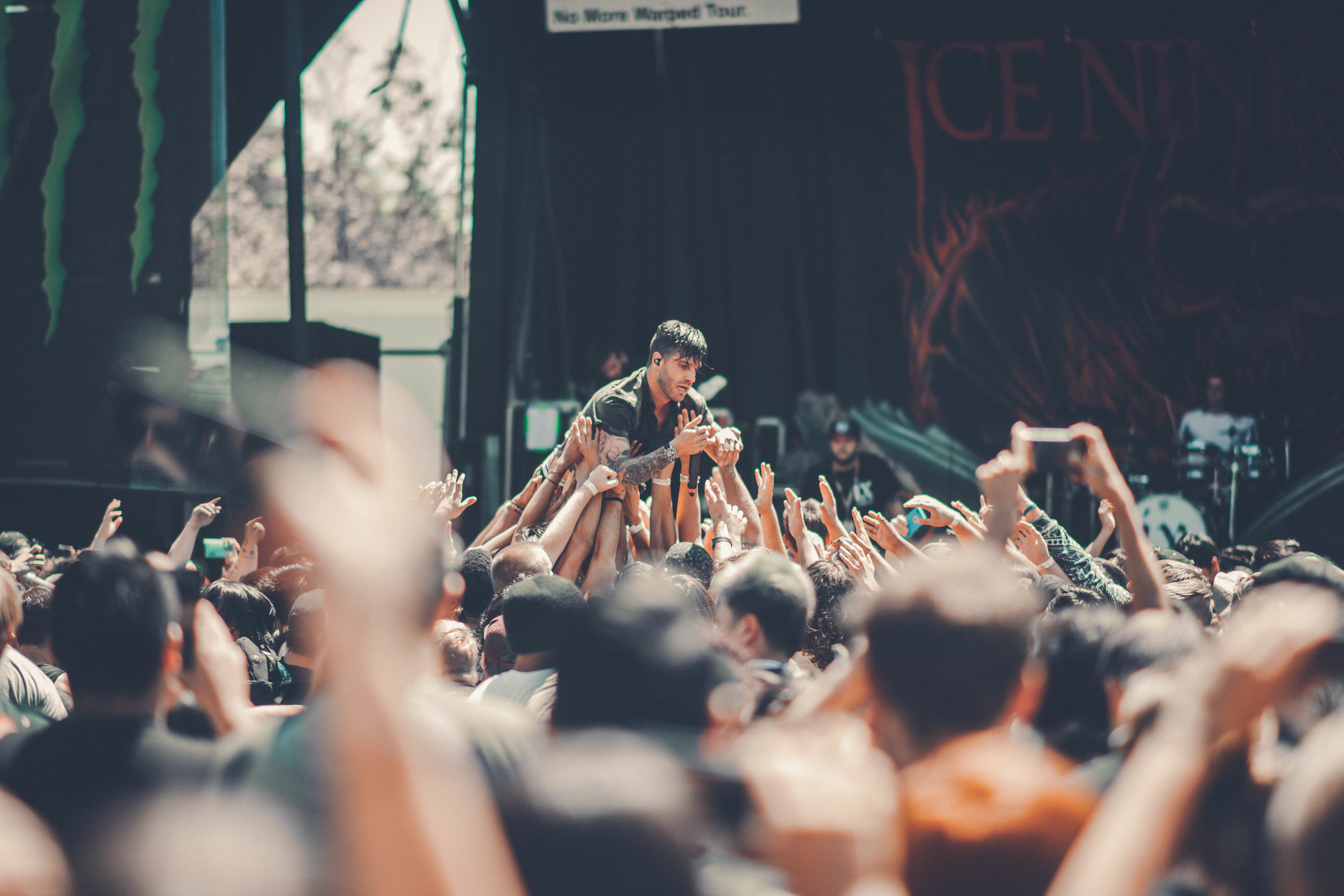 Ice Nice Kills @ Warped Tour 2016