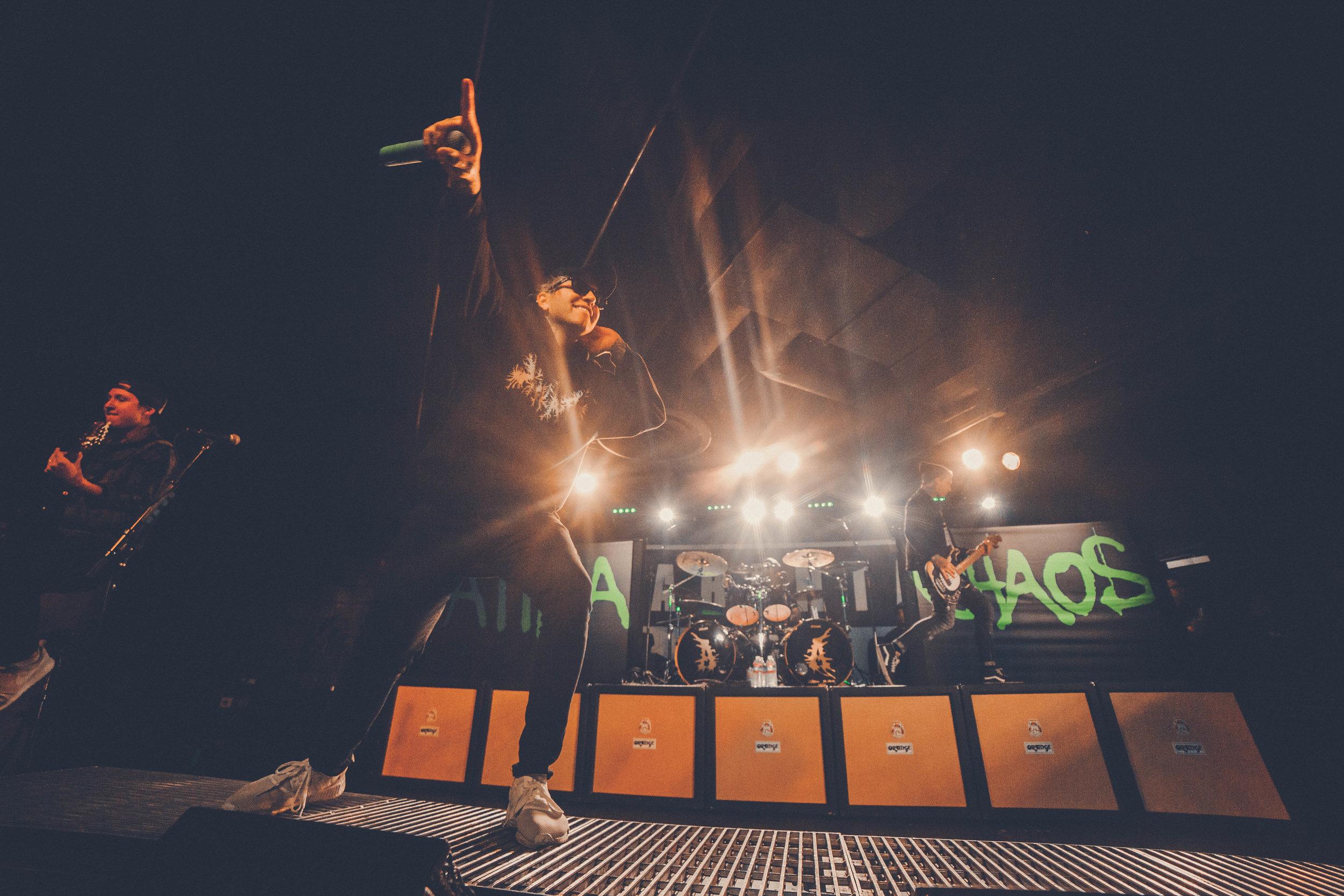 Attila @ The Chaos Tour. Shot for Bringthenoise.com!