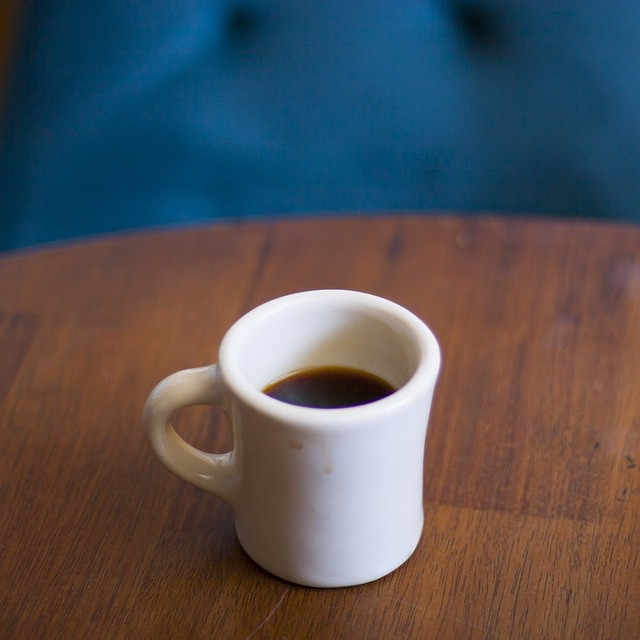 Hello world. We hope you're enjoying a fantastic Saturday with #coffee! This is one of our favorite tiny mugs. 6oz–8oz is all we really need to get the day going.