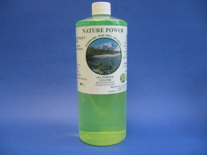 NATURE POWER is an all purpose cleaner/degreaser and biodegradable. Highly concentrated in nature. Made with citrus extract, Nature Power is great for cutting through tough dirt, grease and stains. Safe to use on walls, floors, counter tops, machinery, appliances and much more, this all purpose cleaner is your one stop shop to a clean and beautiful home.