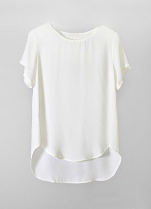 The Sheryl scoopneck tee, $45