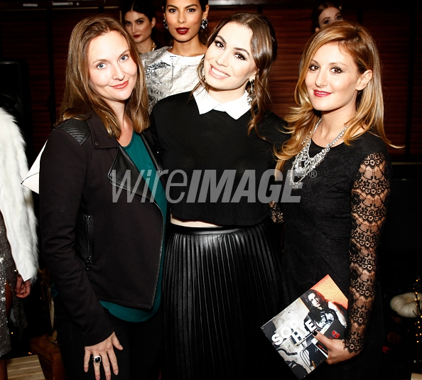 Dawn Miller of Miller Pr, Sophie Simmons, and Hilary Hahn of The Style Club