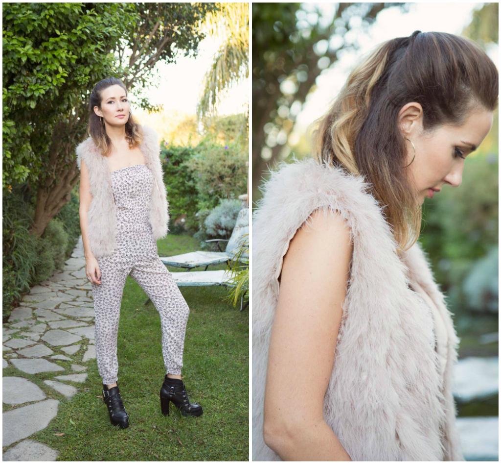 Fur Vest,  Zara