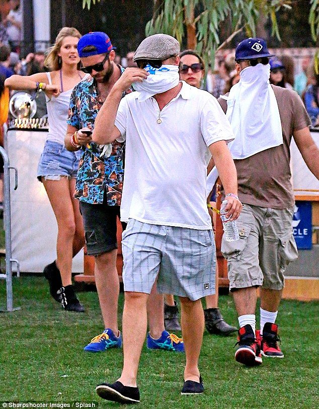 Leo at Coachella last year.