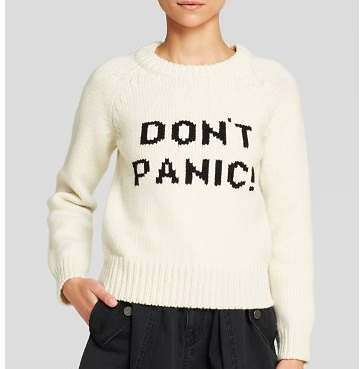 Don't Panic Sweater