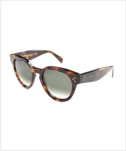 Tortoise Sunglasses, Celine