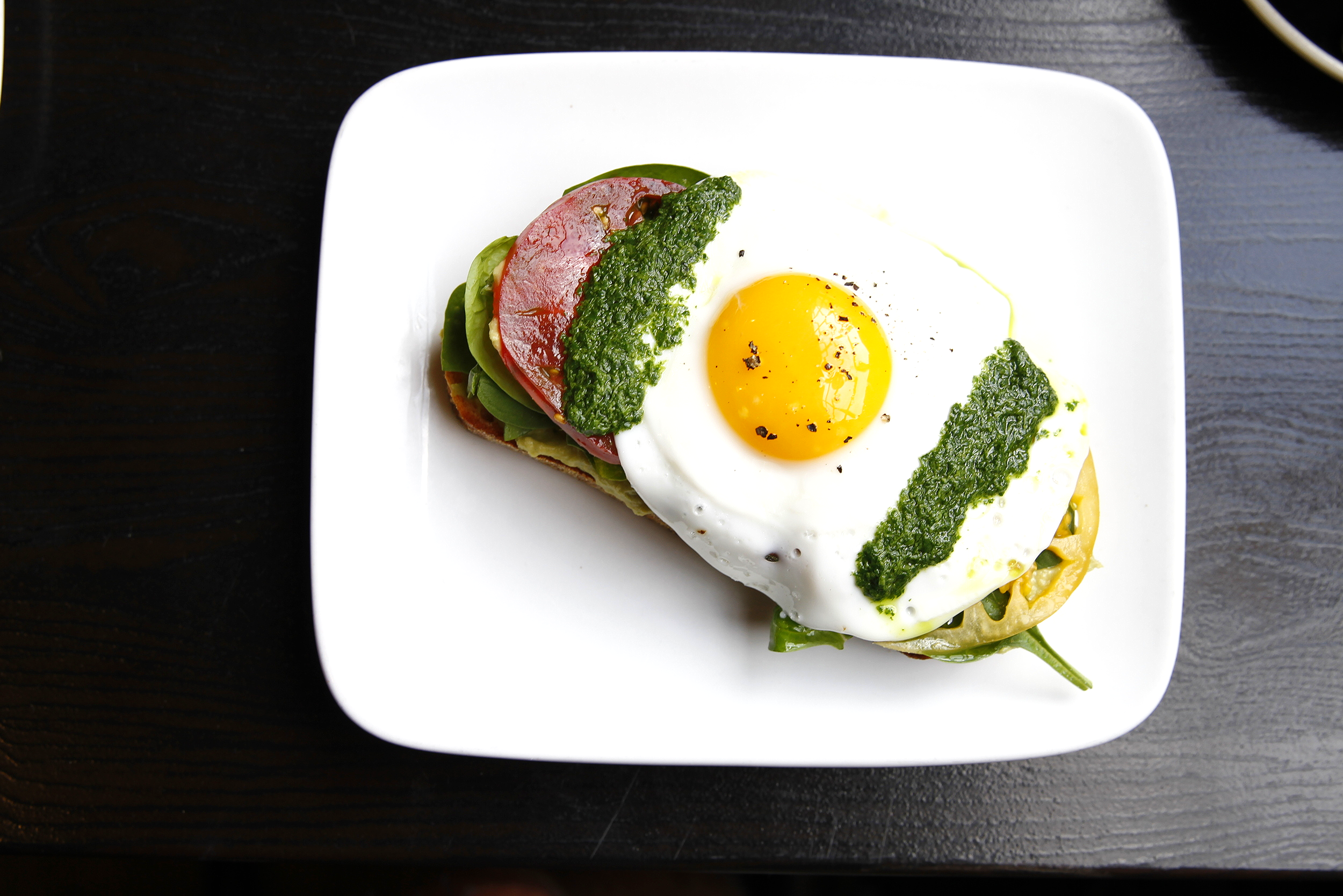 The Sycamore Kitchen's fried egg tartine
