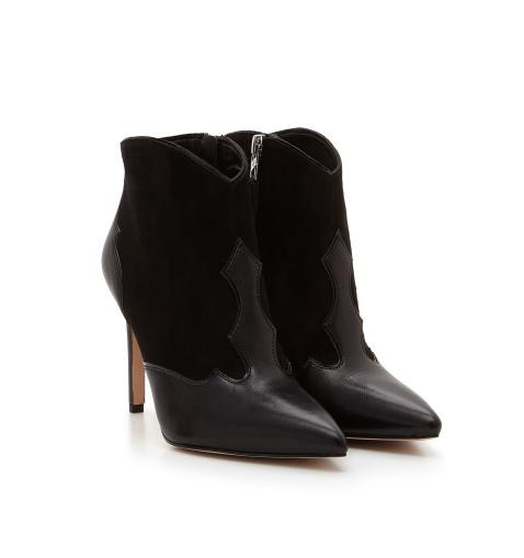 Sam Edelman Bradley Black Boots Booties