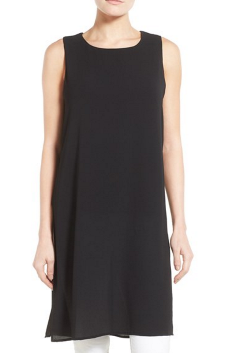 tunic long tank top nordstrom black