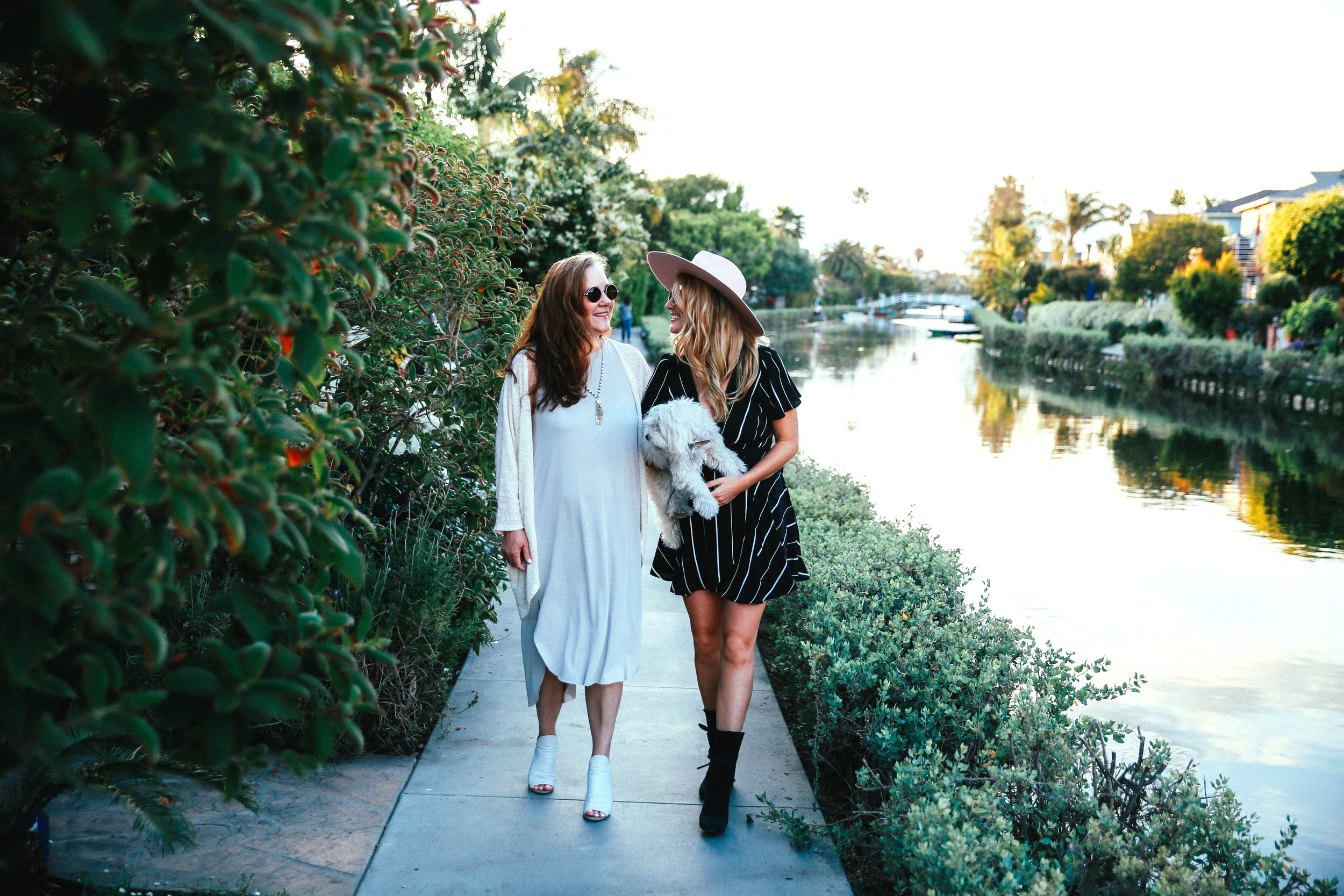 The style sauce fashion blog venice beach canals Mommy and me style