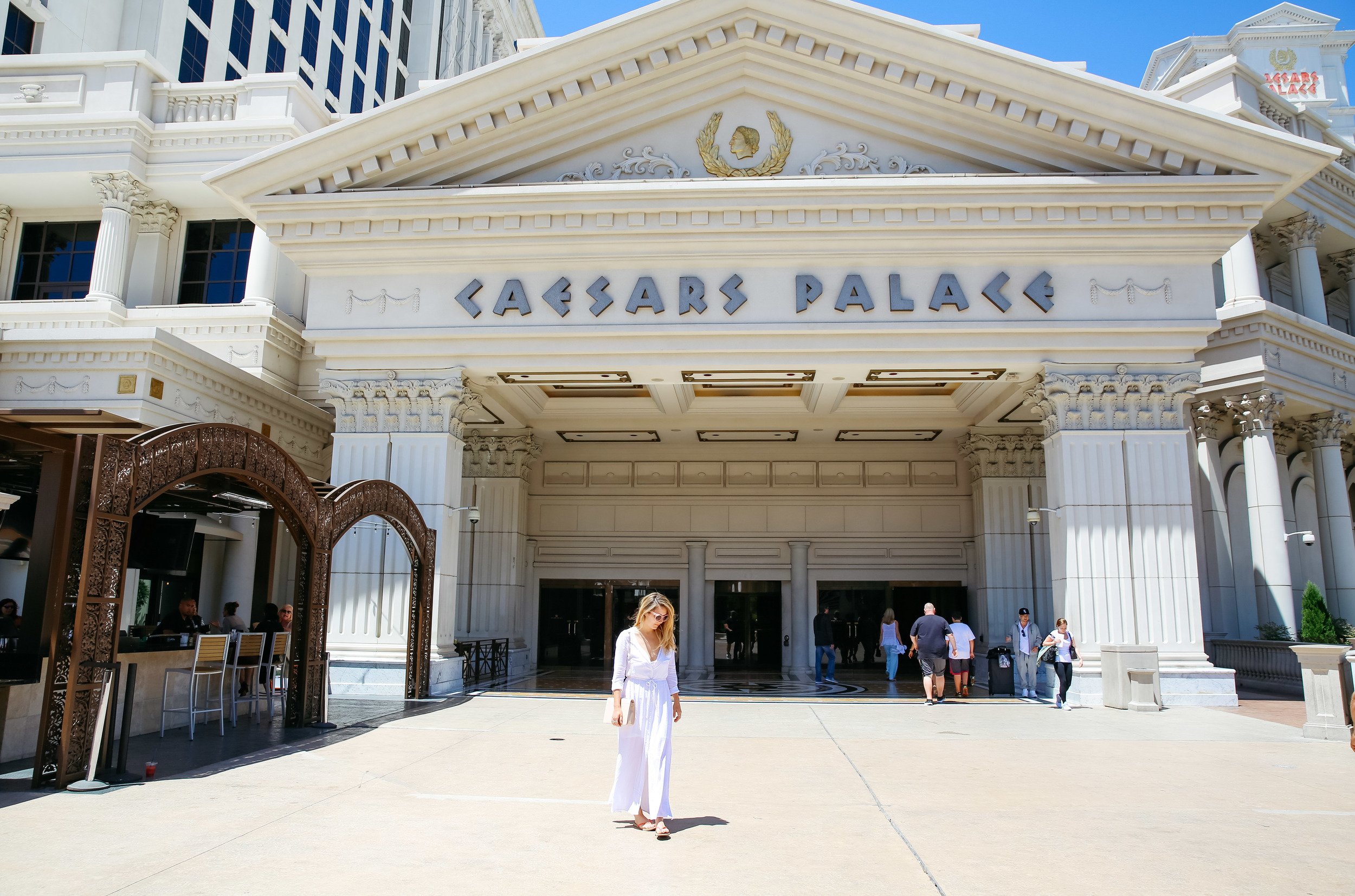 The Style Sauce Fashion Blog Travels Caesar's Palace