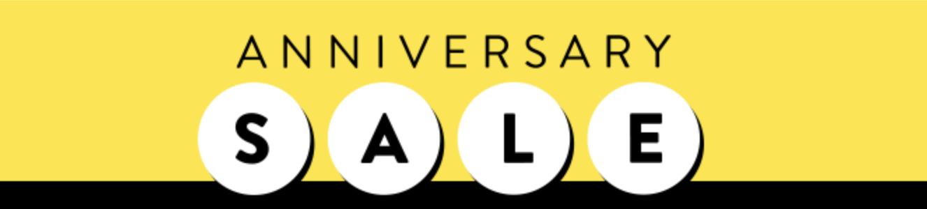 Nordstrom anniversary sale banner