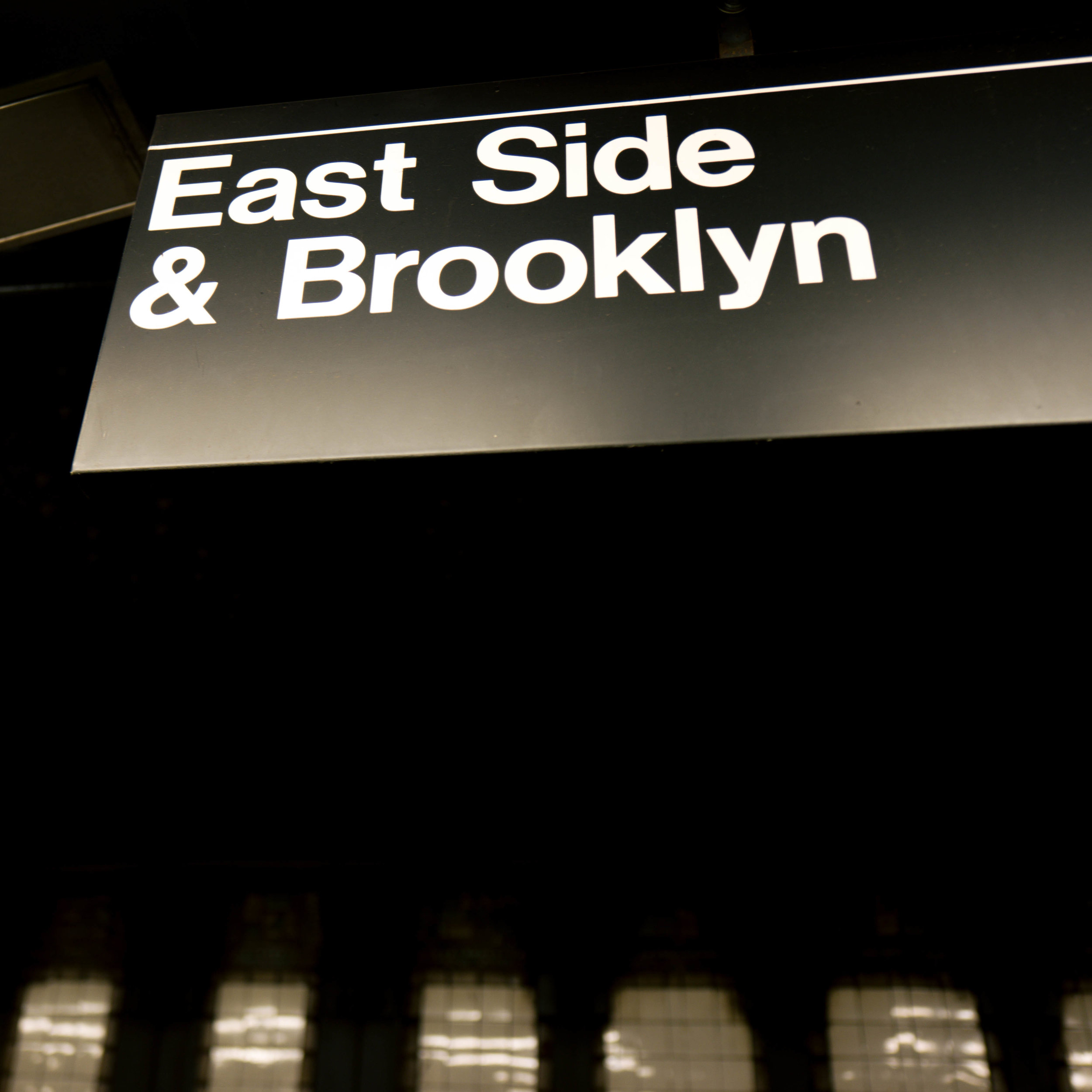 East side and Brooklyn street sign The Style Sauce blog