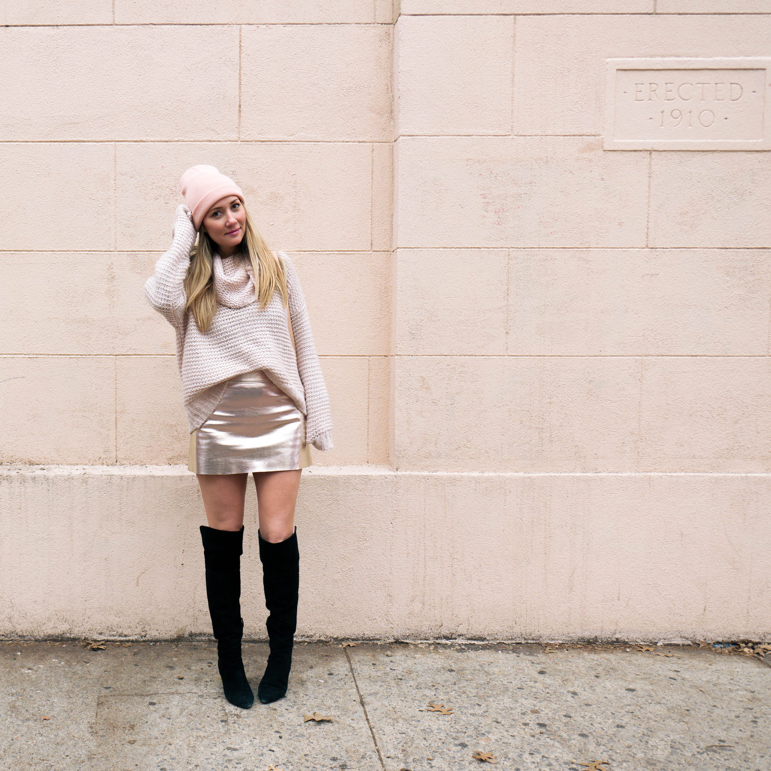 The Style Sauce blog all pink outfit