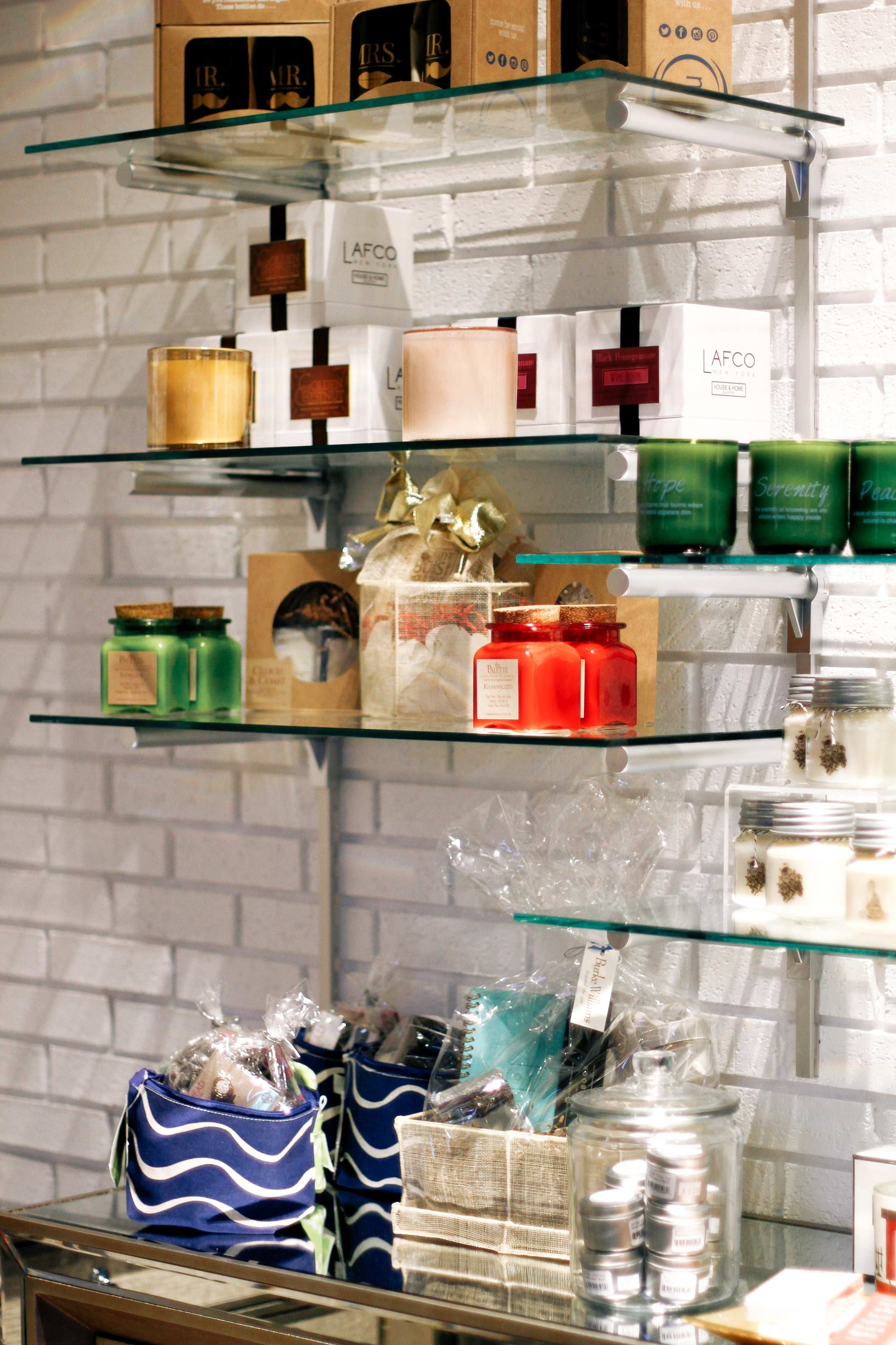 Burke Williams Spa Hollywood La brea products candles
