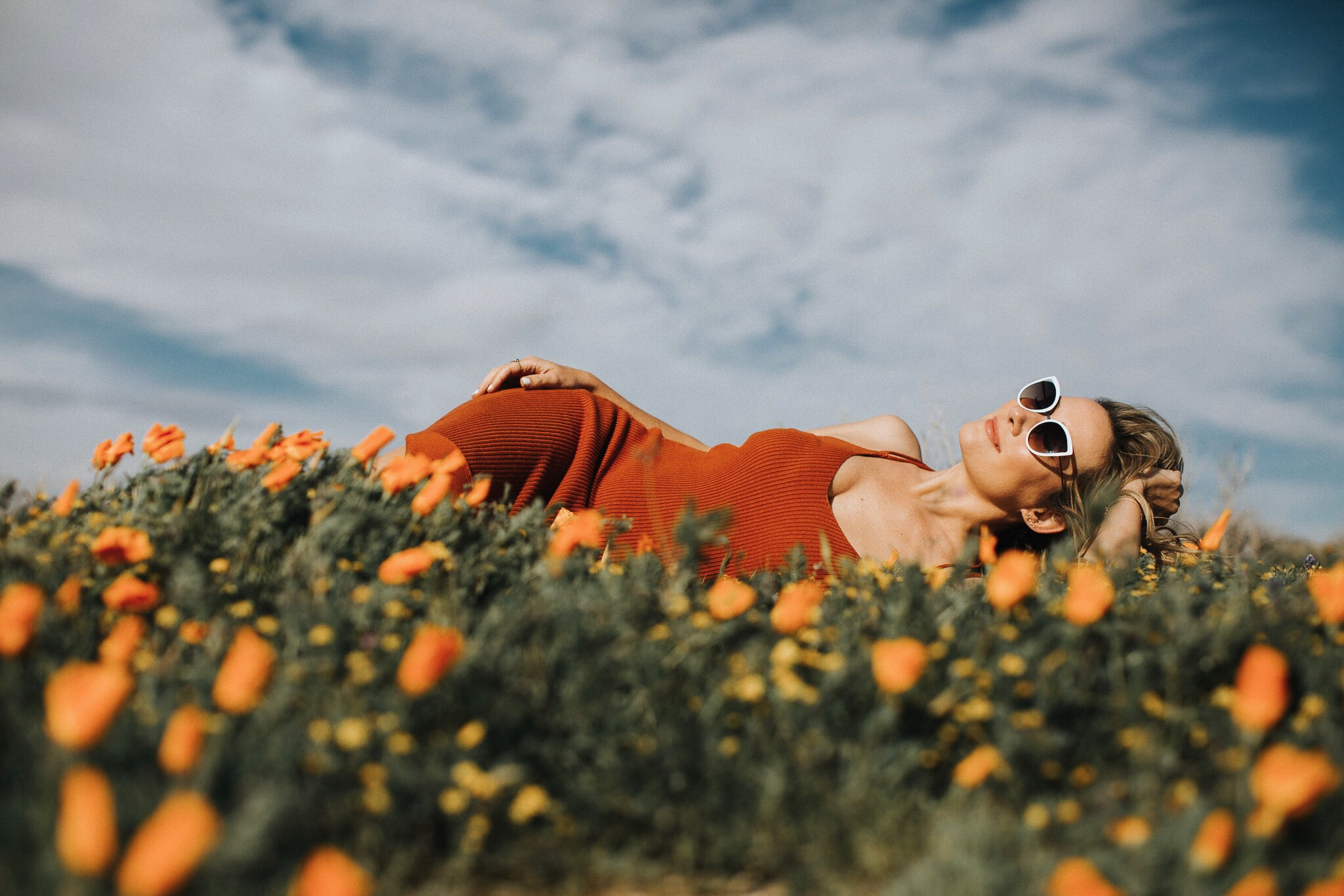 Antelope valley poppy fields Lancaster CA THe Style Sauce Victoria Gold Photography