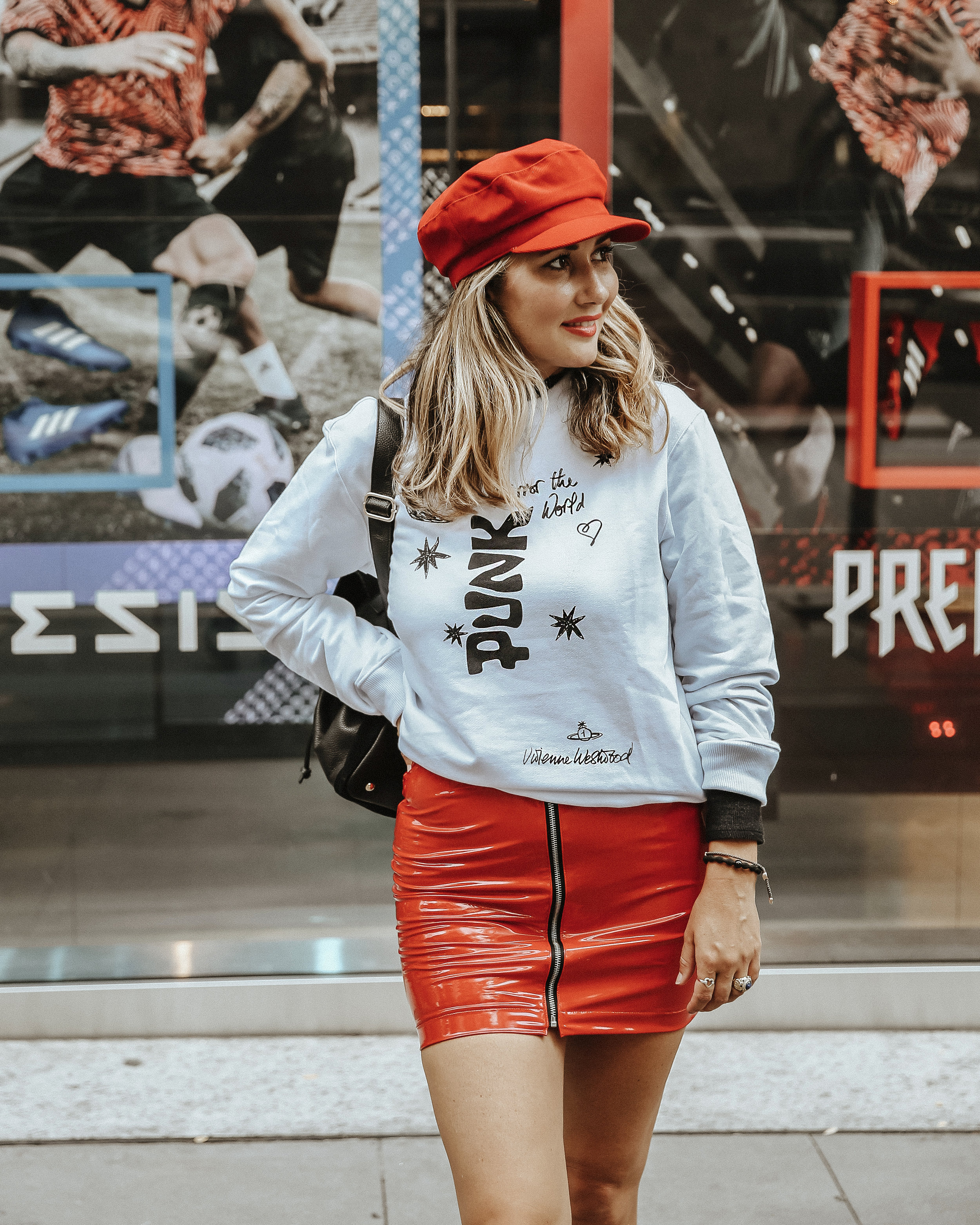 The Style Sauce // Fashion blogger // Vivienne Westwood sweatshirt // Yoox Soccer Couture // NYC Street style