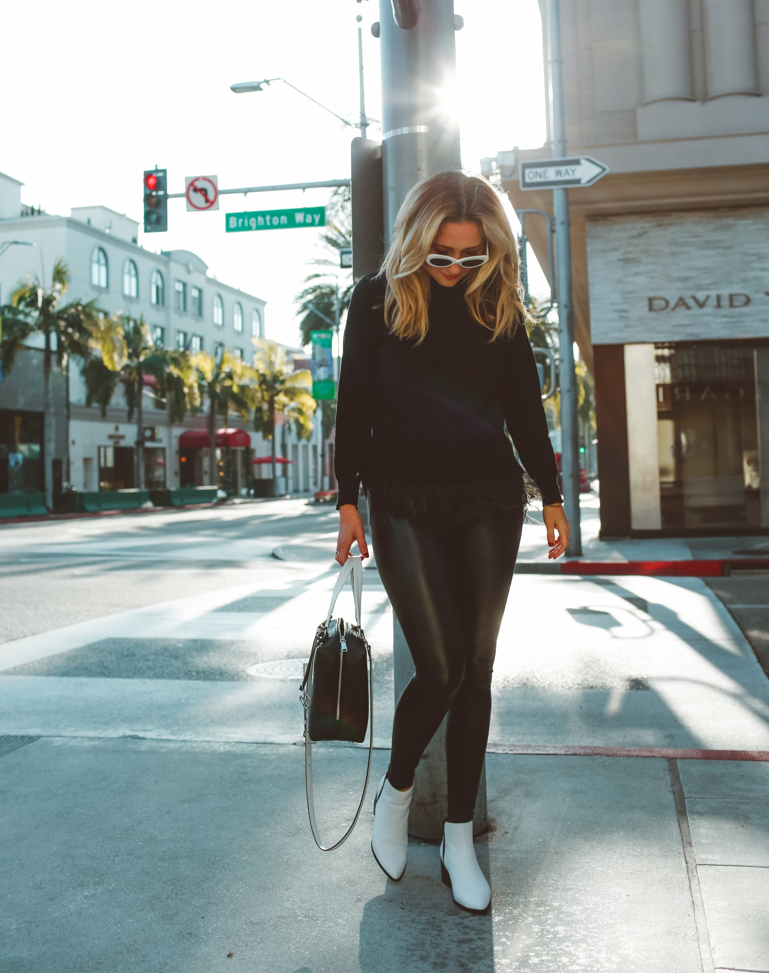 the style sauce fashion blogger all black outfit